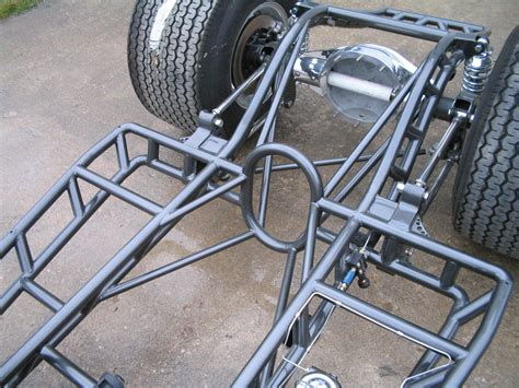 design tubular frame tubbed willys chassis