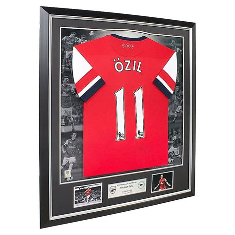 Arsenal Signature 6 arsenal signed ozil 13 14 home shirt official store