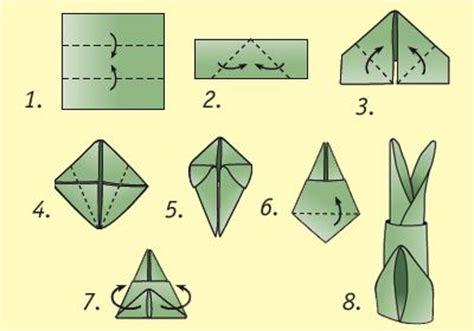Hase Aus Servietten Falten Ostern by Ohren Origami And Kaninchen On