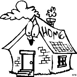 zuhause oder zu hause mit krfadern zu hause