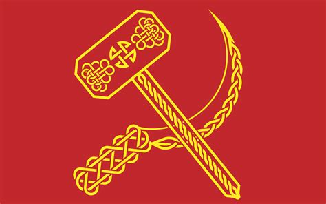 What Colors Go With Yellow hammer sickle by tiberia 1313 on deviantart