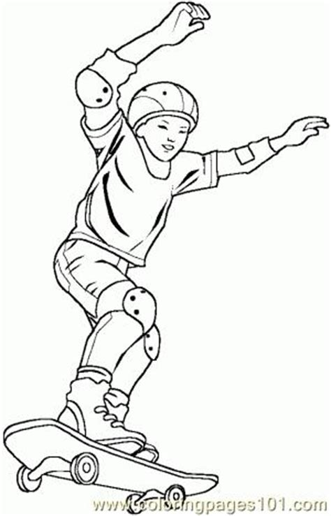 skateboarding coloring pages free printables skateboarding boy 5 coloring pages 7 com coloring page