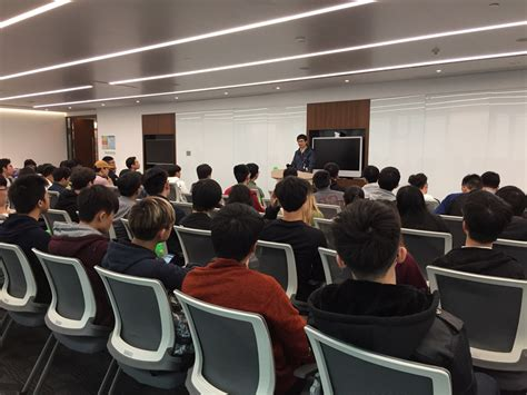 cuhk computers society  student visit  tencent  march