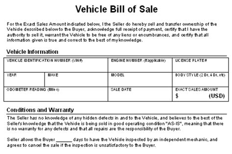 car sales contracts how to write a contract for selling your car
