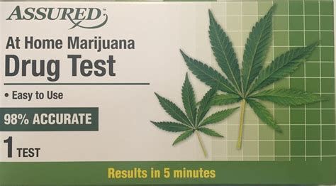Best At Home Test Thc by Store Assured At Home Marijuana Test