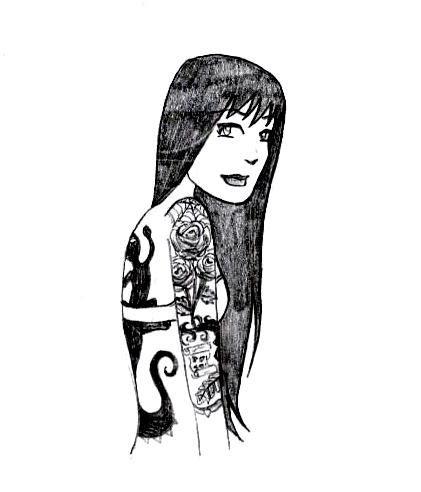 tattoo girl cartoon tattoos ever seen tattoo cartoon girl