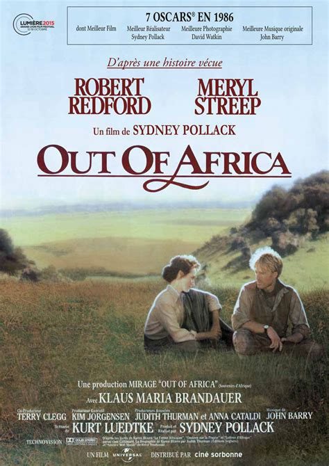 film semi africa out of africa souvenirs d afrique film 1985 allocin 233