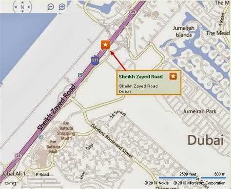 location road map uae dubai metro city streets hotels airport travel map