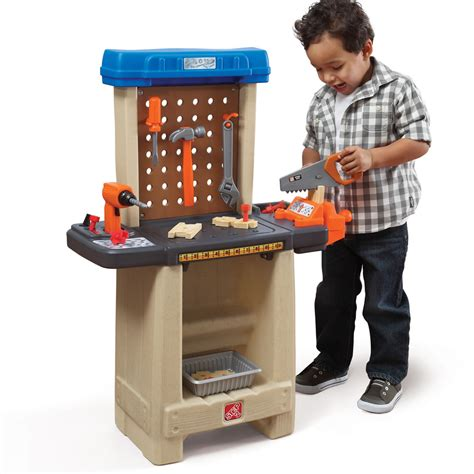 kid work bench handy helper s workbench pretend play step2