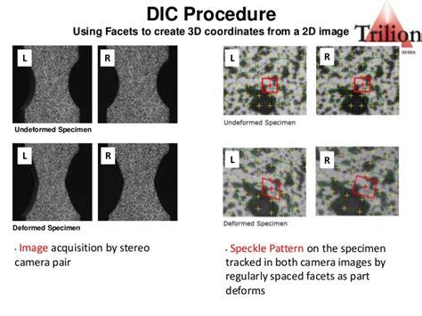 pattern image correlation digital image correlation presentation