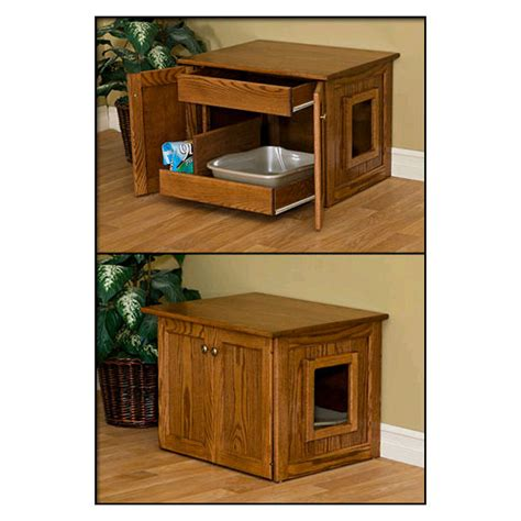 wooden cat toilet litterbox cabinet cat litter box furniture and low cat litter box