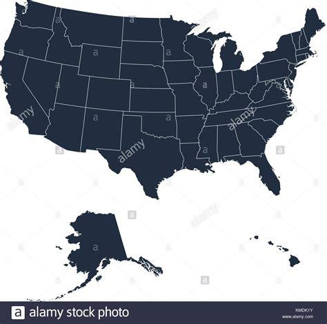 united states map alaska  hawaii stock  united states map alaska  hawaii stock