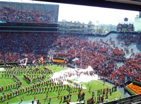 auburn football student section noon kickoff games make sec hot seats even hotter