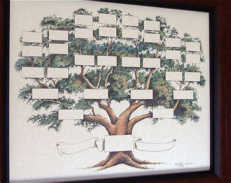 printable decorative family tree blank family tree etsy