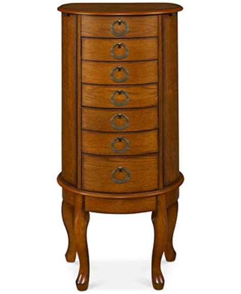 Jewelry Armoire Macys by Shirlee Jewelry Armoire Ship Furniture Macy S