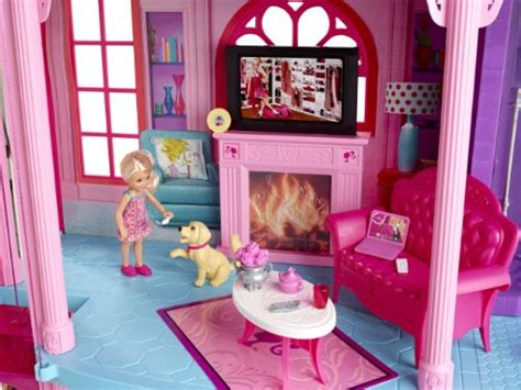 barbie  story dream townhouse buy   uae toys