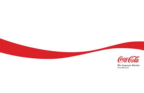 layout design of coca cola company coca cola the corporate identity on behance