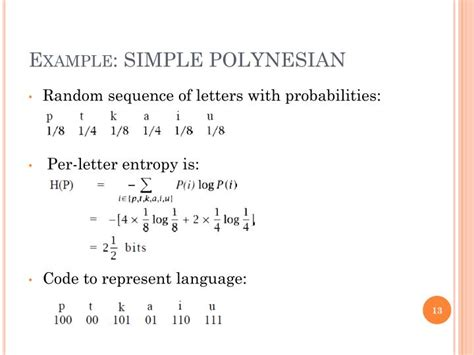 Letter Entropy ppt entropy in nlp powerpoint presentation id 2198095