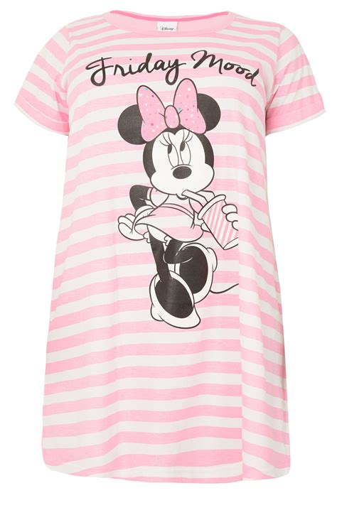 Botol Minum Disney Minie Mouse Pink 140273 pink white striped disney minnie mouse friday mood