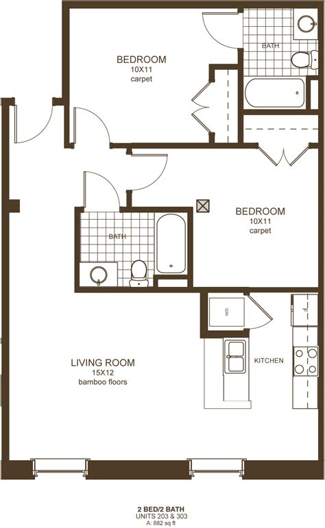 2 bedroom apartments richmond va downtown richmond va 2 bedroom apartments floor plans