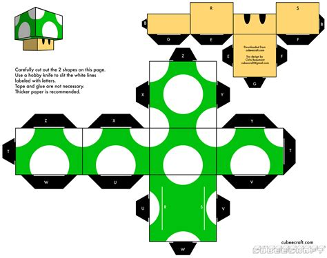 Papercraft Templates Free - works papercraft template collection