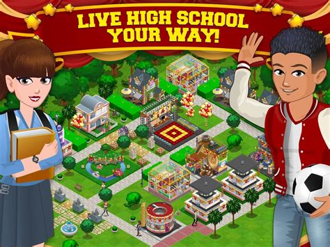 surviving high school apk highschool story mod apk zippy