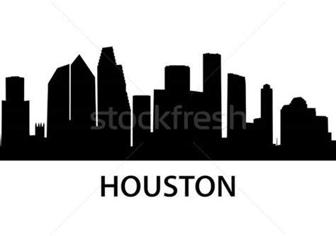 skyline houston vector illustration  felix pergande