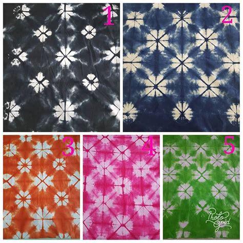 Kain Jumputan Dan Batik Printing kain shibori motif unik jumputan jepang batik pekalongan