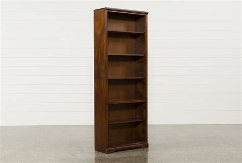 7 Inch Bookcase Quincy 84 Inch Bookcase Living Spaces