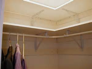 corner closet rod kit best ideas amp advices for closet organization systems