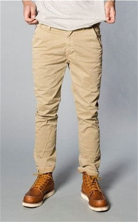 khakis and boots for boys nudie khaki slim guys clothes