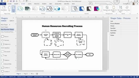 advanced visio becoming a visio 2013 power user 01 key tools and