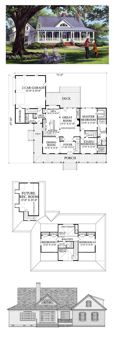 Country Living Floor Plans | country house plan 86226 total living area 2553 sq ft