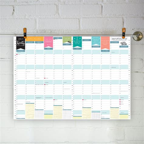 free printable wall planner 2016 nz who ate my crayons web and graphic designer specialising