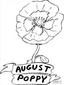 花朵简笔画 罂粟花简笔画图片 花朵简笔画 简笔画大全