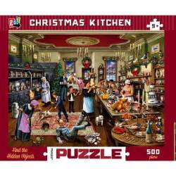 Christmas Tree Shop Toys - christmas kitchen 500 piece puzzle ebay