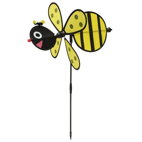 bumble bee home decor large bumble bee ladybug windmill wind spinner whirligig