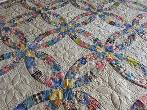 wedding ring cline quilting