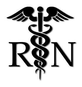 Home Decor Daily Deals by Caduceus Medical Symbol Rn Decal Vinyl Sticker Sizes