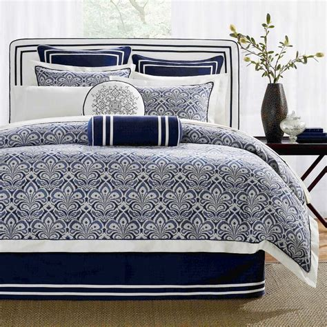 Blue And White Bedding Sets 17 Best Images About Coastal Home Navy White On Pinterest Nautical Design Nautical
