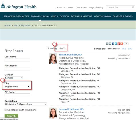 visitor behavior pattern find a physician how consumers shop for doctors online