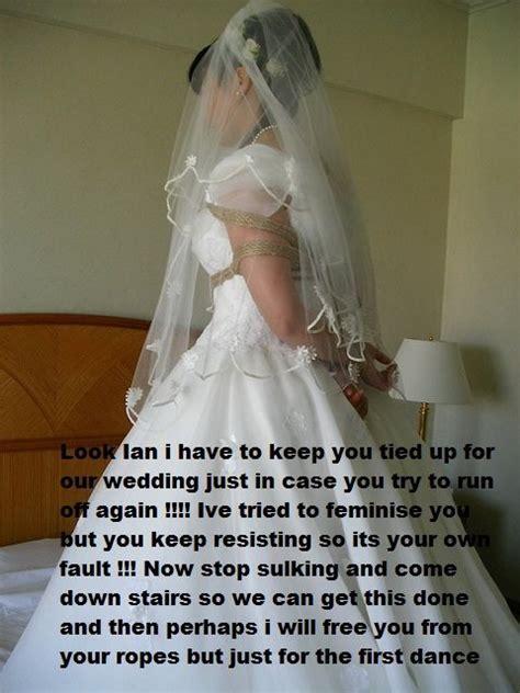forced womanhood wedding pin by james sissy on forced crossdressing pinterest cap