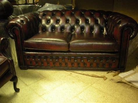 divani in pelle usati divani chesterfield usati vintage in pelle riano