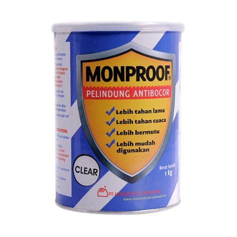 jual monproof cat pelapis anti bocor bahan bangunan