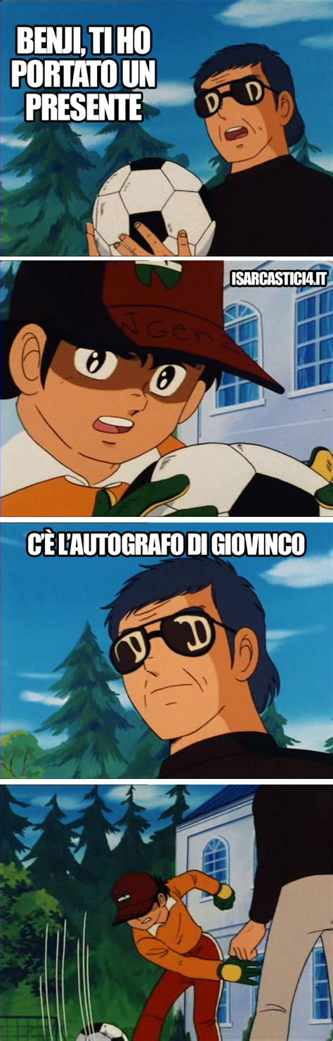 Meme E - meme capitan tsubasa i sarcastici 4 sarcasmo