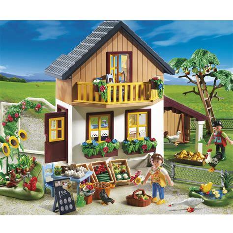 haus playmobil playmobil farmhouse with farm shop 5120 163 50 00 hamleys