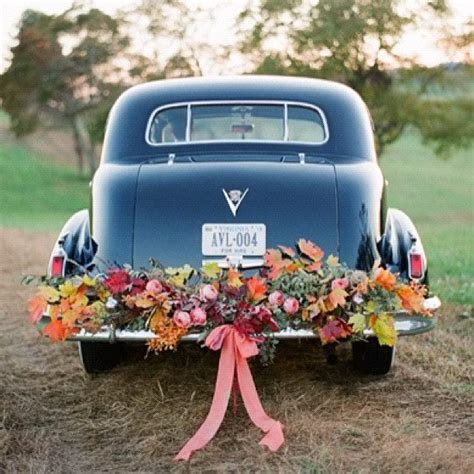 blumendeko hochzeitsauto blumendeko f 252 r das brautauto 1001hochzeiten wedding