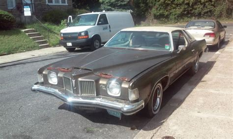 1973 pontiac grand prix model j 400 4 barrel th 400 automatic parts car