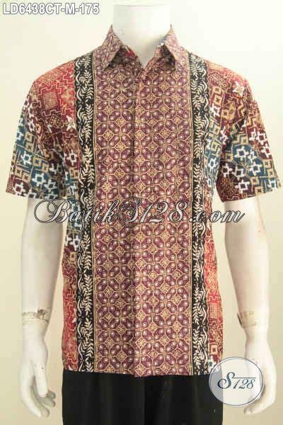 Pakaian Pria Terbaru Hem Baju Pria Katun Melar Termurah jual baju hem lengan pendek motif terbaru pakaian batik