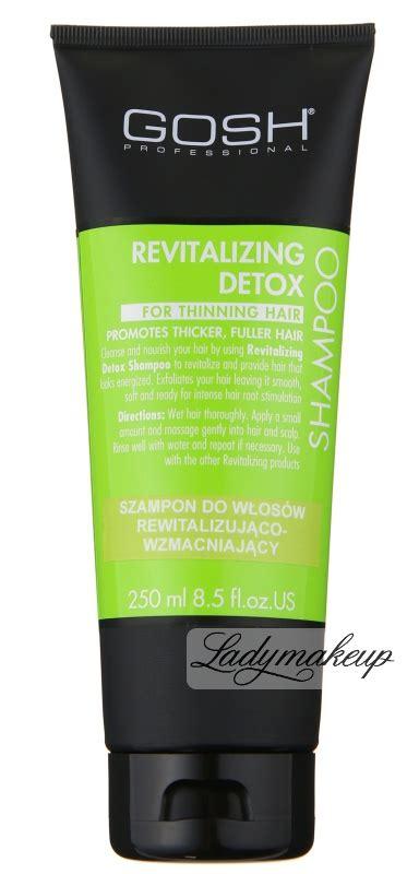 Does Hair Razor Detox Shoo Work by Gosh Revitalizing Detox Shoo Shop 31 99 Zł